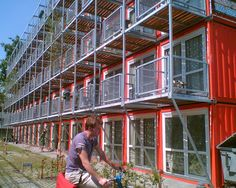 container apartments - Google Search