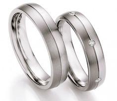 Titan Partnerringe zum neuen Glück by verlobungsring.de #wedding #liebe #future