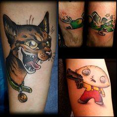 #firefly #ko #cat #odin #familyguy #stewie #tattoo #ironcobratattoo #berlin #2014