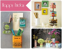 cute ideas for vintage tins