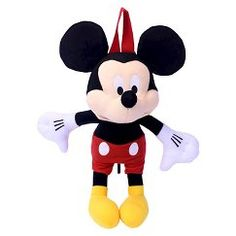 Toddler Boys' Mickey Mouse Plush Backpack