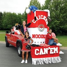 Can O' Soup Parade Float Kit - Homecoming Parade Float Ideas