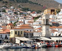 Greek Island of Hydra Greece Vacation, Greece Travel, Places Ive Been, Places To Go, Visit Greece, Greek Islands, Athens, Street View, Argo