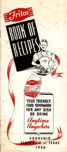 Libro de recetas de Fritos.
