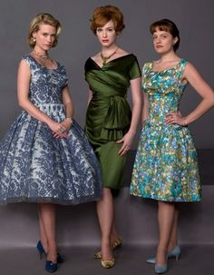 1960s style, fashion of Mad Men