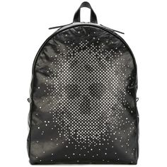 Alexander McQueen studded skull backpack (99.270 RUB) ❤ liked on Polyvore featuring men's fashion, men's bags, men's backpacks, black and alexander mcqueen