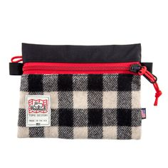 WANT!!!!! TOPO DESIGNS X WOOLRICH ACCESSORY BAGS We teamed up with the venerable outdoor brand Woolrich® to create a new twist with some of their timeless fabrics. We too