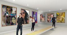 Como seria uma exposição de museu com você e seus amigos?