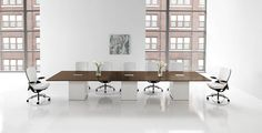 Hon Preside Conference Table Series- many sizes to choose from, wood veneer or laminate top options Hon Office Furniture, Office Furniture Warehouse, Furniture For You, Furniture Making, Table And Chairs, Dining Table, Tables, Conference Table, Conference Meeting
