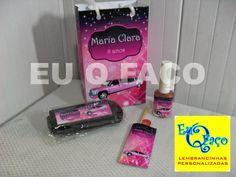 Limousine Rosa - Brindes e Lembrancinhas: Kit Manicure Limousine Rosa