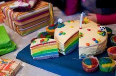 regenbogentorte Cake, Desserts, Food, Pies, Tailgate Desserts, Deserts, Kuchen, Essen, Postres