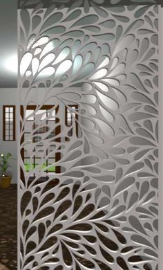 unit design With Window Living Room Partition Design, Room Partition Designs, Jaali Design, Aluminium Windows And Doors, Cnc Cutting Design, Door Gate Design, Tv Unit Design, Decorative Screens, Canopy Design