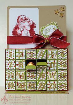 Stampin' UP! Wunschzettel ABC-123 Sketch Alphabet, Auf die Geschenke fertig los First Hand Emotion: In{k}spiration_Week Tag 3: Schatzsuche mit dem Nikolaus