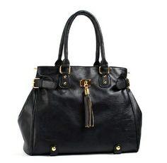 Luxury Side Buckle Shoulder Bag