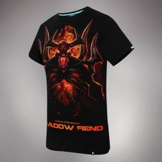 Cheap shadow fiend, Buy Quality dota 2 directly from China black tee Suppliers: DOTA SF Tees Limited Edition DOTA 2 Shadow Fiend Black T-shirs For Doters Dota 2 T Shirt, Dota2 Heroes, Defense Of The Ancients, Image T, Tee Shirts, Tees, Tshirts Online, Shorts, Mens Tops