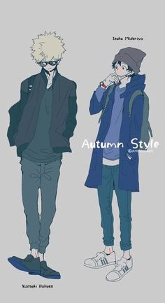 Deku and Kacchan ~ Modern Clothes :))