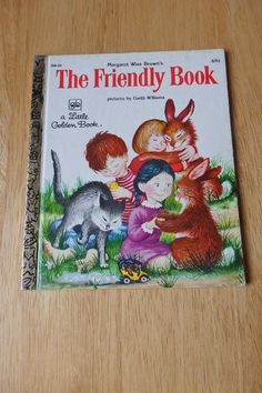 Little Golden Book The Friendly Book by JustPatTreasuresshop