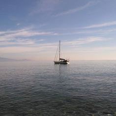 #boat #mediterranean #sailboat #sea #bluesky #clouds #granada #almuñecar #andalucia #spain #instaphoto #nofilter by fran90ag
