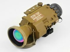 FLIR Advanced Combat Thermal Clipon - Long Range Tan is the most advanced thermal clipon sight on the market. Vision Glasses, Tac Gear, Thermal Imaging, Tactical Equipment, Firearms, Binoculars, Weapons, Guns, Survival