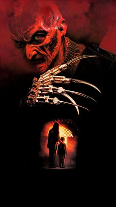 New Nightmare 1994 Poster Nightmare Movie, New Nightmare, Nightmare On Elm Street, Alien Vs Predator, Horror Show, Movie Wallpapers, Classic Films, American Horror Story, Horror Stories