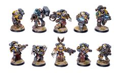 Showcase: Red Scorpions Elites by RD Minis - Tale of Painters