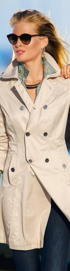 Madeleine Trench Coat
