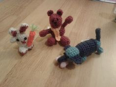 All friends together  (Crochet)