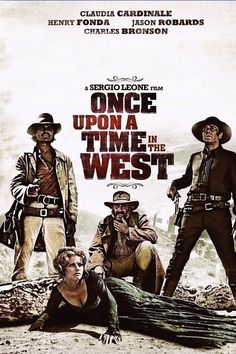 Once Upon a Time in the West - Written & Directed by Sergio Leone - Composed by Ennio Moricone - With Claudia Cardinale, Henry Fonda, Jason Robards, Charles Bronson Charles Bronson, Ray Charles, Old Movies, Vintage Movies, Hollywood Party, Cinema Paradisio, Peliculas Western, Film Mythique, Cinema Posters