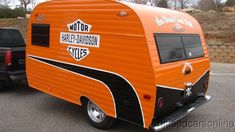 Vintage Caravan..flying Harley!..Re-pin brought to you by #OregonInsuranceagents at #houseofinsurance in #EugeneOregon