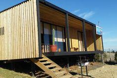 Échale un vistazo a este increíble alojamiento de Airbnb: CABAÑA SURFISTAS PUNTA DE LOBOS - Cabañas en alquiler en Pichilemu