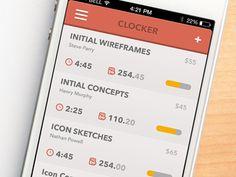 Freelance Time Tracking App