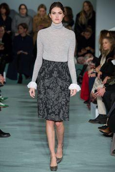 Oscar de la Renta Fall 2016 Ready-to-Wear Fashion Show - Vanessa Moody