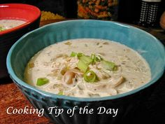 Cooking Tip of the Day: Crockpot Creamy White Chicken Chili