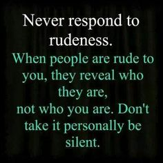 Rise above them!!