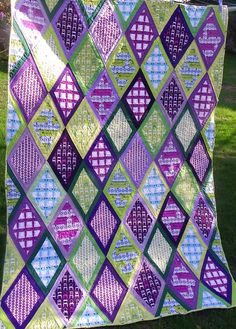 Finished Tufted Tweet quilt! | by Little Island Quilting