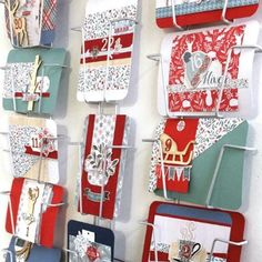 Cartes de l'avent originales Washi, Diy Couture, Jewelry Box, Ideas, Advent Calendar, Manualidades, Stickers, The Originals, Tutorials