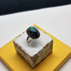 204 mm Ring Silber 900 Skarabäus Käfer Handarbeit Ägypten rar