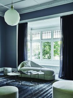 grey living room with white window trim terrace style home globewest 2020 interior design trends - TLC INTERIORS Living Room Trends, Interior Design Trends, Luxury Home Decor, Living Room Designs, Home Trends, Home Decor Trends, Trending Decor, Home Decor, Interior Trend
