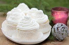 Prajitura Fulg de Nea - Desert De Casa - Maria Popa Dessert Recipes, Desserts, Cheesecake, Pudding, Sweet, Christmas, Food, Pies, Tailgate Desserts