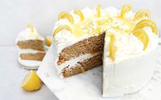 This dreamy, moist, and ultra zesty cake is vegan, gluten and wheat-free, packed full of flavor, and infused with real lemons.
