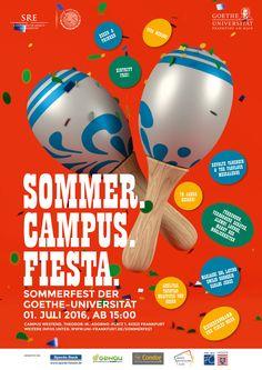 """""""Sommer. Campus. Fiesta!"""" – Das Sommerfest der Goethe-Universität – Aktuelles aus der Goethe-Universität Frankfurt"""