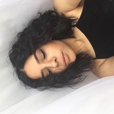 If i ever cut my hair an didn't straighten it Short Curly Hair, Wavy Hair, New Hair, Curly Hair Styles, Natural Hair Styles, Curly Lob, Hair Inspo, Hair Inspiration, Grunge Hair