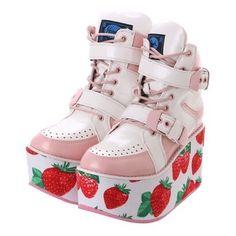 Dr Shoes, Sock Shoes, Me Too Shoes, Shoe Boots, Harajuku Fashion, Kawaii Fashion, Cute Fashion, Fashion Outfits, Fashion Shoes