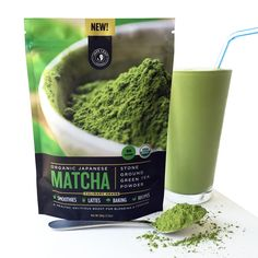 Buy the finest Organic Matcha Green Tea Powder. Organic Boat brings authentic Japanese Origin USDA Certified Organic Matcha Green Tea Powder straight to your do Organic Matcha Green Tea, Matcha Green Tea Powder, Green Teas, Matcha Smoothie, Smoothie Bowl, Sin Gluten, Gluten Free, Healthy Smoothies, Smoothie Recipes
