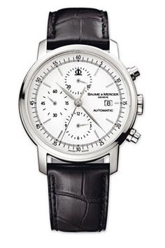 Baume & Mercier Watches - Classima Executives Contemporary Extra Large Chronograph - Style No: M0A08591