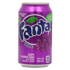 Газировка Фанта вкус винограда