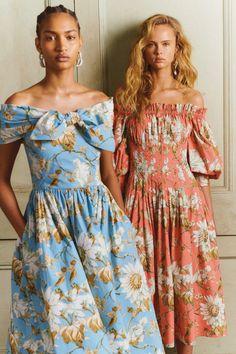 Oscar de la Renta Pre-Fall 2020 Fashion Show - Vogue Fashion 2020, Look Fashion, Fashion Show, Womens Fashion, Fashion Trends, Fall Fashion, Jw Moda, Miranda Priestly, Fall Collection
