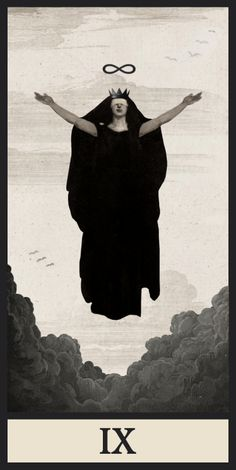 Ignacio Cobo Tarot Deck, The Hermit Digital Collage, Collage Art, Digital Art, Dark Fantasy, Fantasy Art, Sara Fabel, La Danse Macabre, Esoteric Art, Arte Obscura