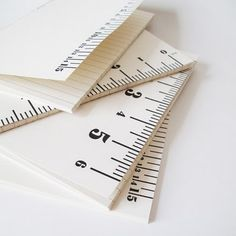 ruler notebooks