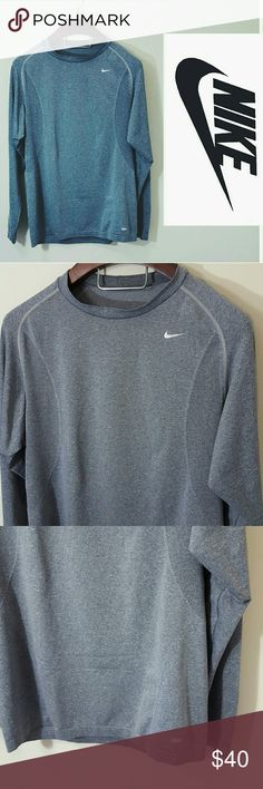 Men's Nike thermal dri-fit long sleeve. XL In excellent condition  Men's Nike dri fit long sleeve shirt  Nike Pro. Size XL.  Offers welcome. Nike Shirts